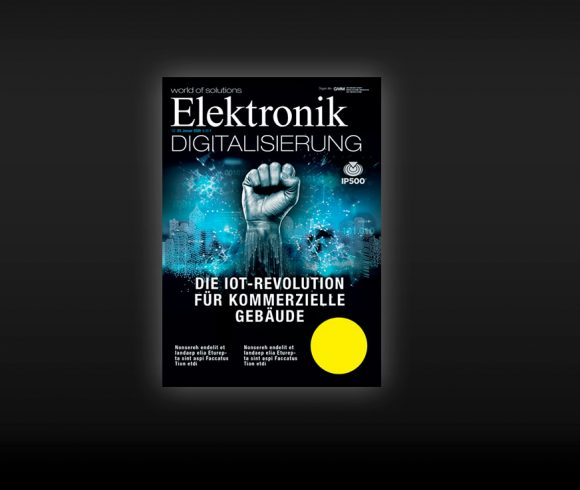 IP500´s appearance as the cover story of the technical journal: Elektronik